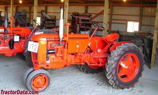 TractorData.com J.I. Case VAC tractor photos information