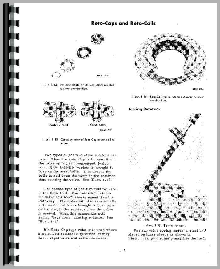 International Harvester 3600A Industrial Tractor Engine Service Manual ...