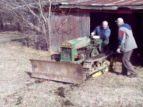 SOLD 2/10- Rare 1946 John Deere BO Lindeman Crawler ...