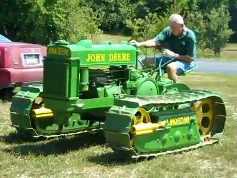 BO LINDEMAN John Deere 1946 Crawler Tractor WIDE-TRACK ...