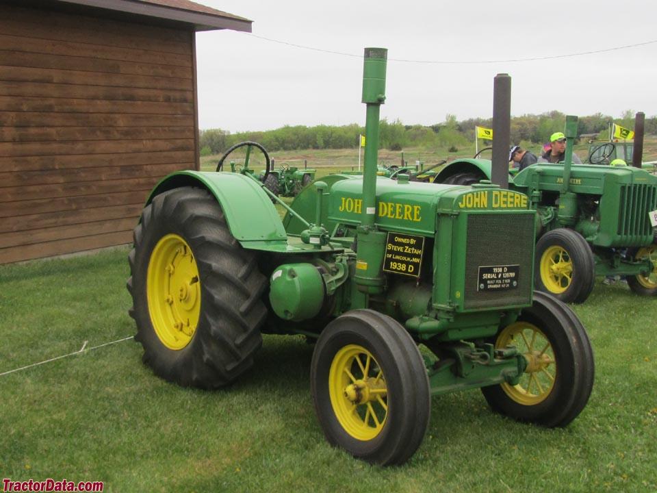TractorData.com John Deere Unstyled D tractor photos ...