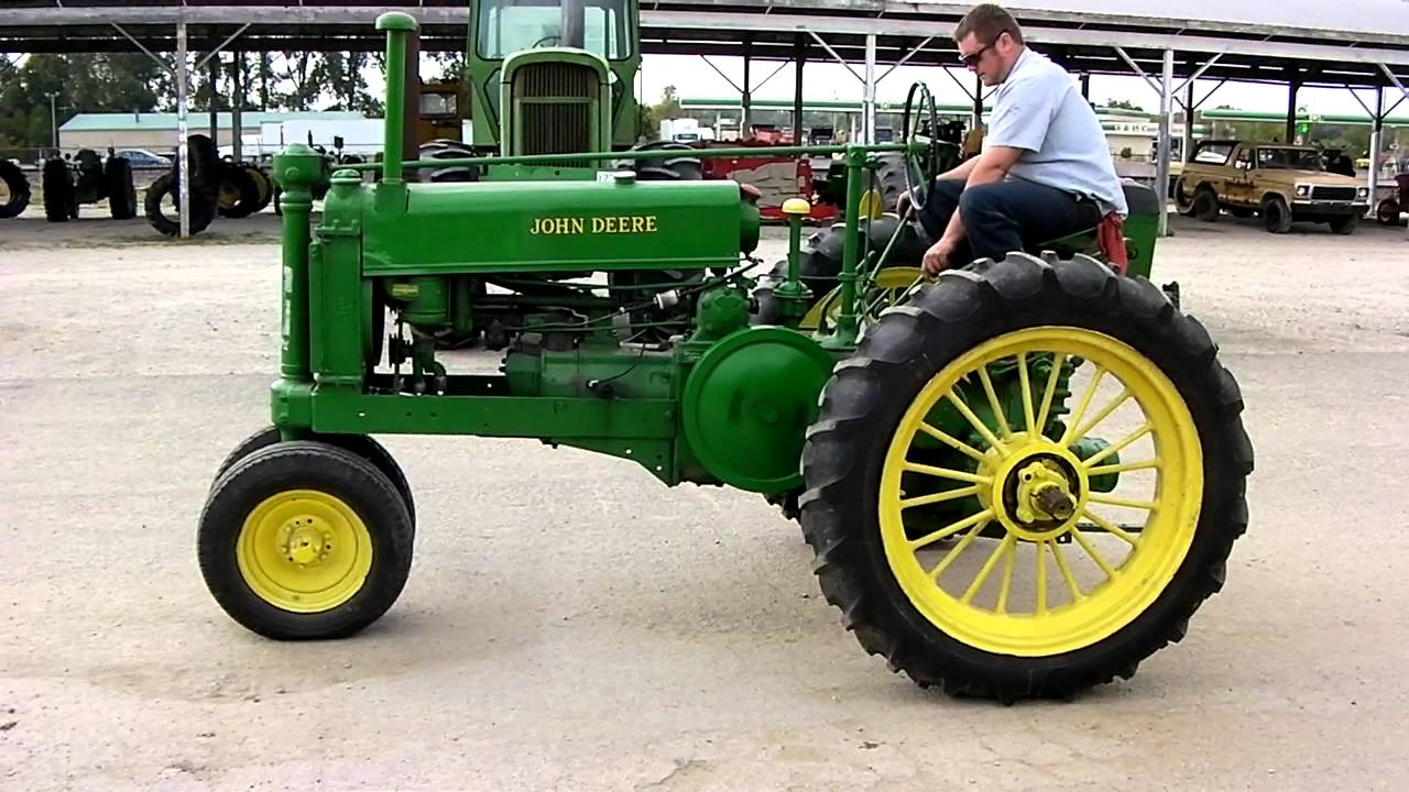 1938 JOHN DEERE UNSTYLED A TRACTOR FOR SALE - YouTube