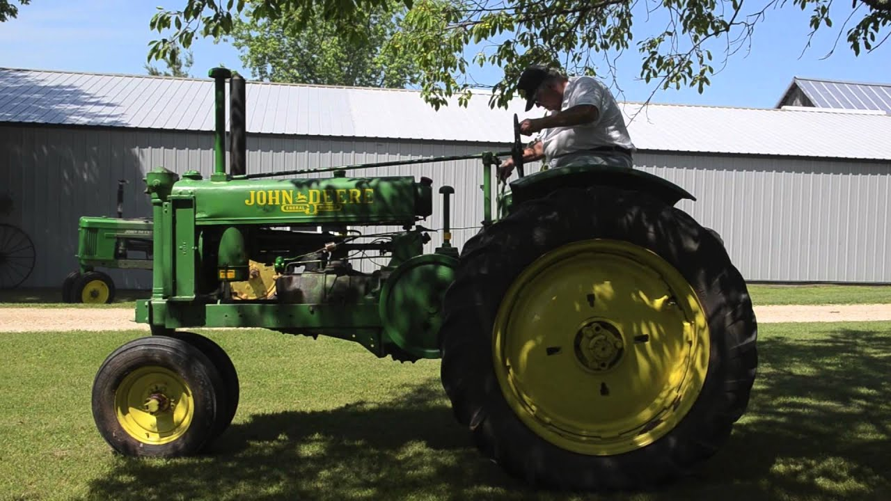 1939 John Deere Model Unstyled G Tractor - The Ed Westen ...