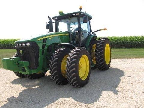 2010 John Deere 8245R Tractor Sold on Iowa Farm Auction 11 ...