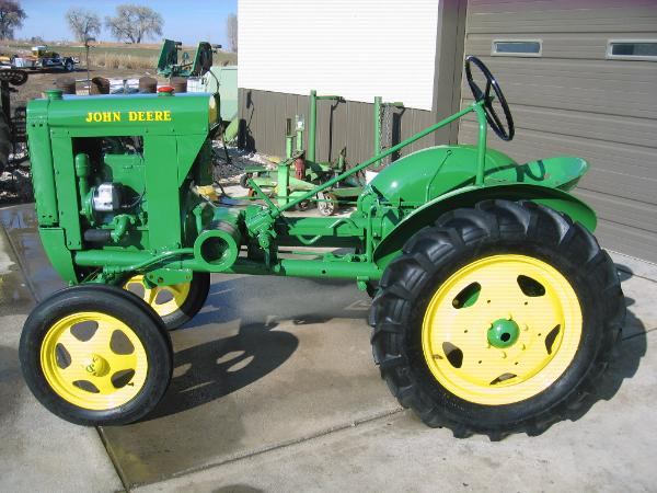 John Deere Unstyled L Tractor Restoration - Classic Farm ...
