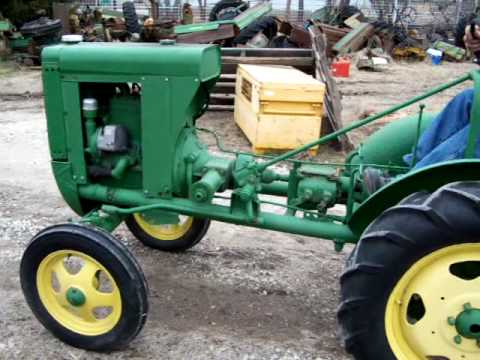 1938 John Deere unstyled L Tractor -SOLD 2/24/10 - YouTube