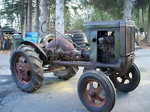 John Deere UNSTYLED L Antique Rare Tractor Original LA LI ...