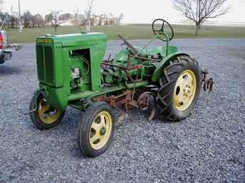 Used Farm Tractors for Sale: 1937 Unstyled John Deere L ...