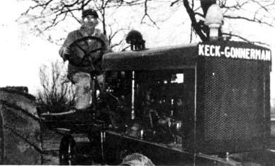 Keck-Gonnerman Model 15-30 farm tractor.