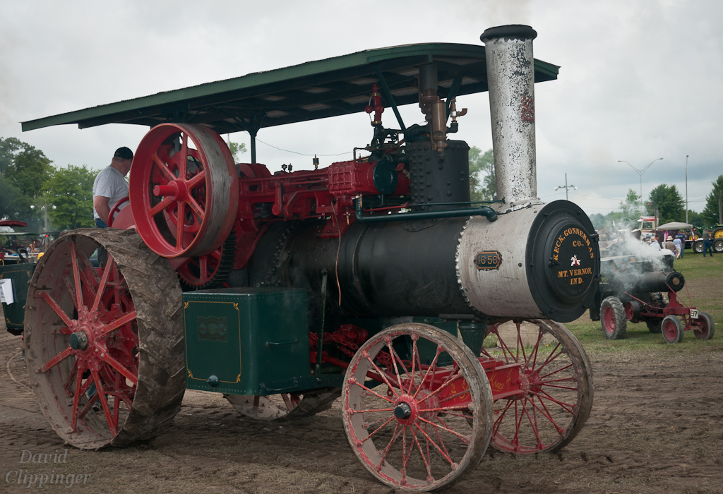 Keck Gonnerman (David Clippinger) Tags: tractor steam steamengine ...