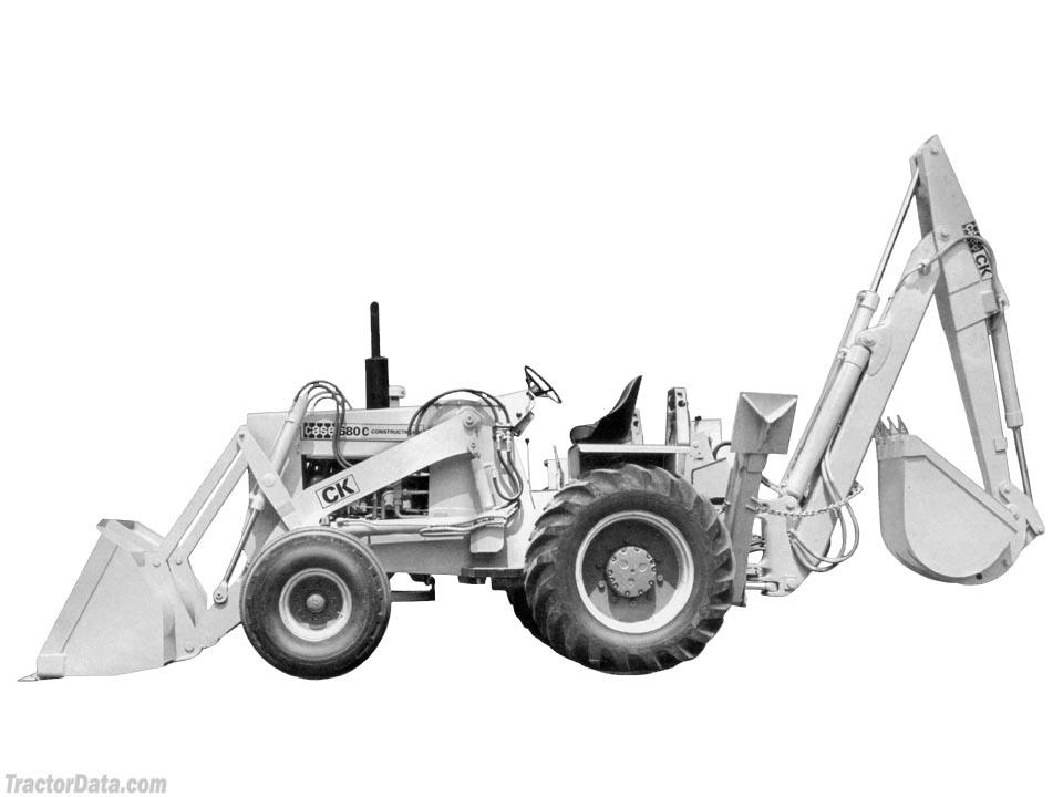 TractorData.com J.I. Case 680C Construction King tractor photos ...