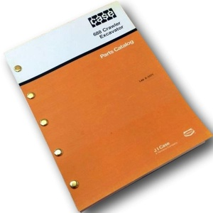 Case 688 Crawler Excavator Parts Manual Catalog Assembly Exploded ...