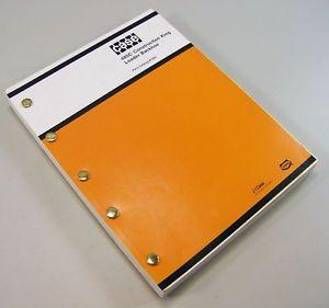 ... & Books > See more J I Case 480c Ck Construction King Backhoe Par