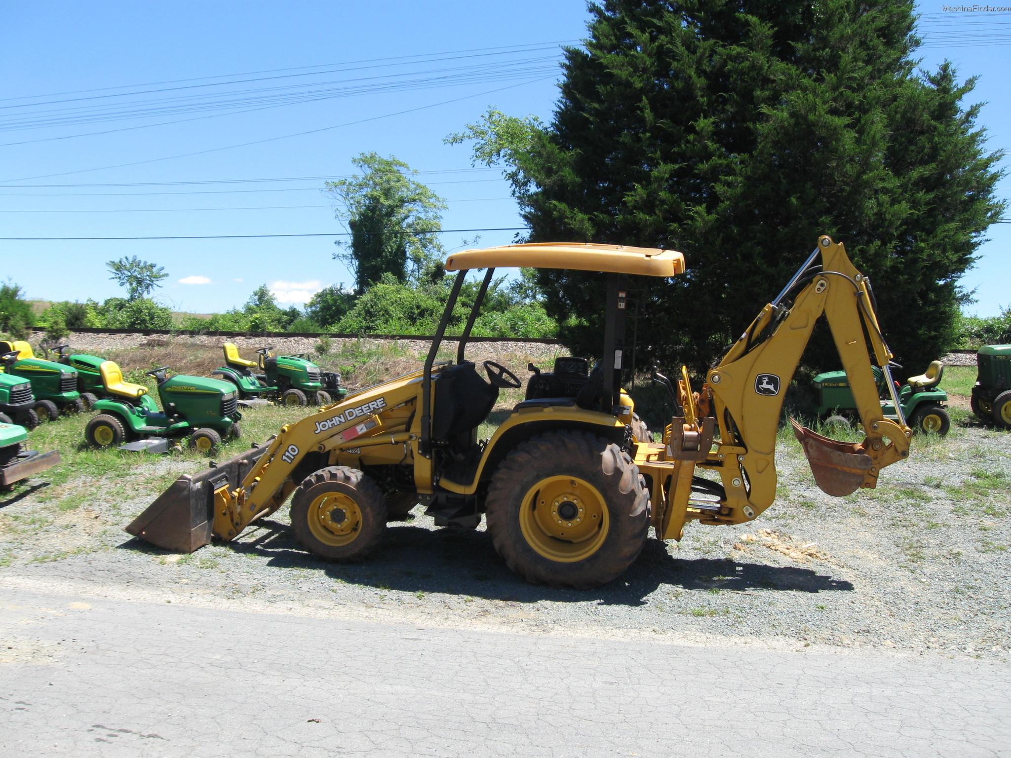 2008 John Deere 110 TLB Tractors - Compact (1-40hp.) - John Deere ...