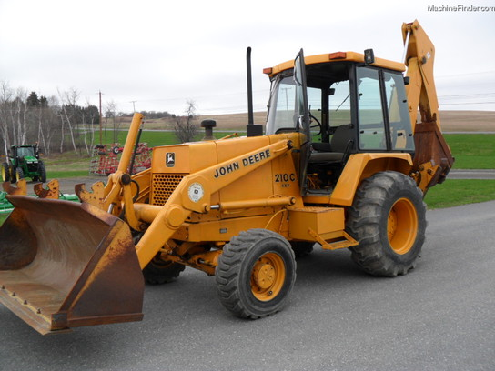 1988 John Deere 210C Tractor Loader Backhoes - John Deere ...