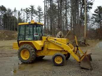 ... Tractors for Sale: 1987 John Deere 210C (2005-02-15) - TractorShed.com