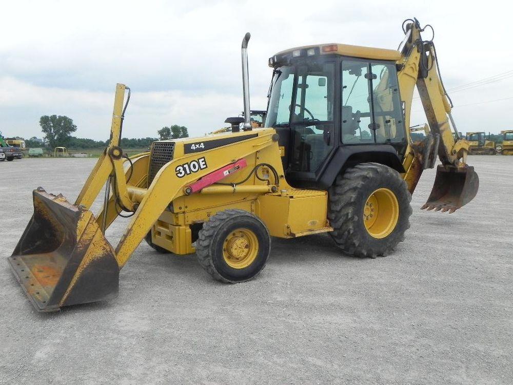 1998 John Deere 310E For Sale (3252444) :: Construction Equipment ...