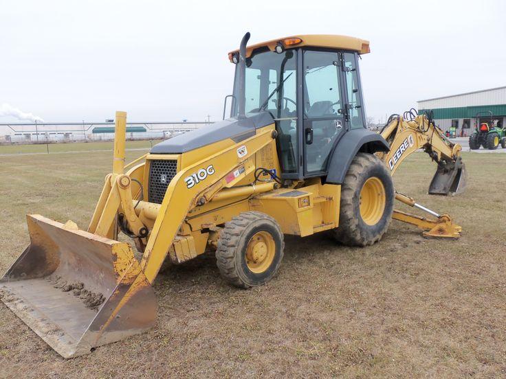 John Deere 310G Backhoe | JD construction equipment | Pinterest