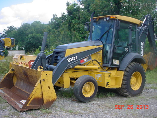 2008 John Deere 310J Backhoe Loaders - John Deere MachineFinder
