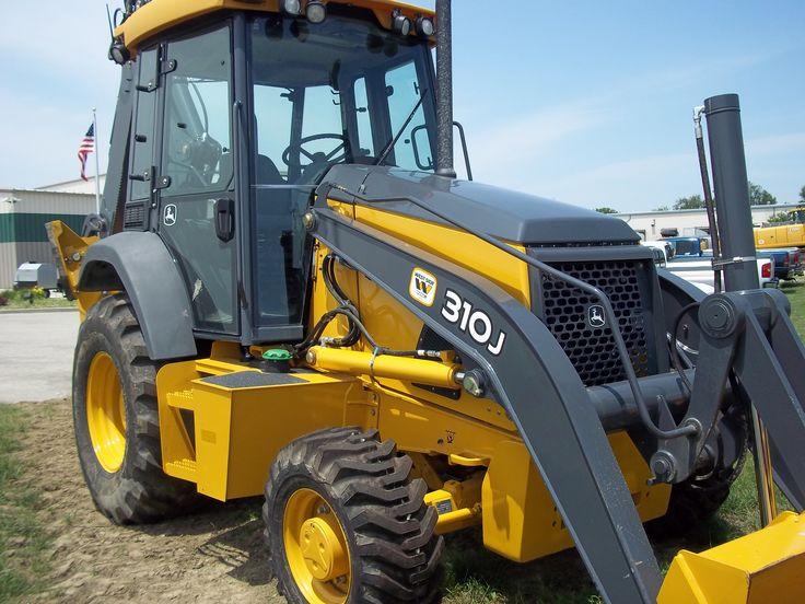 John Deere 310J backhoe | JD construction equipment | Pinterest