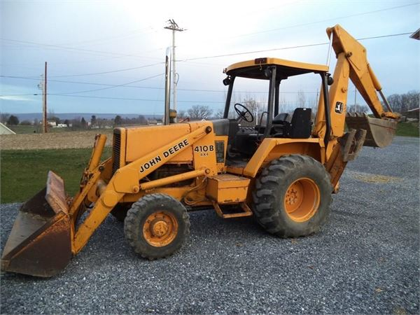John Deere 410B - Backhoe loaders - ID: 2940EBD7 - Mascus USA
