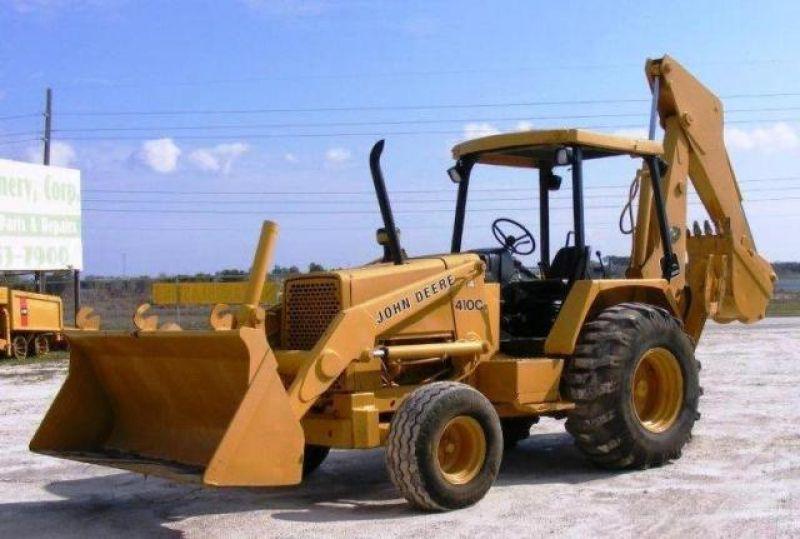 John Deere Backhoe 410C for sale | used, second hand & surplus ...