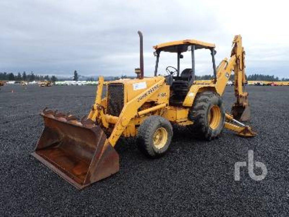 1990 John Deere 410C For Sale (3233636) :: Construction Equipment ...
