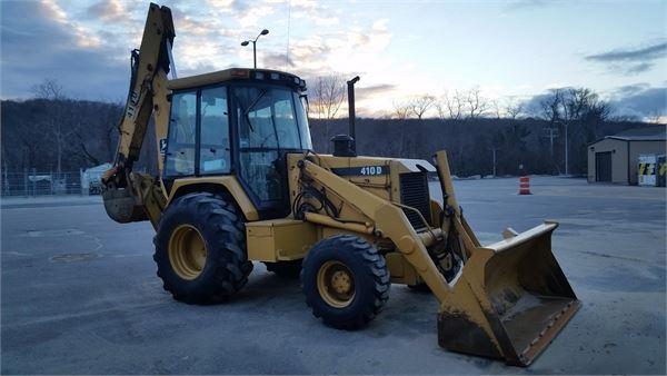 John Deere 410D - Backhoe loaders, Price: £23,285, Year of ...