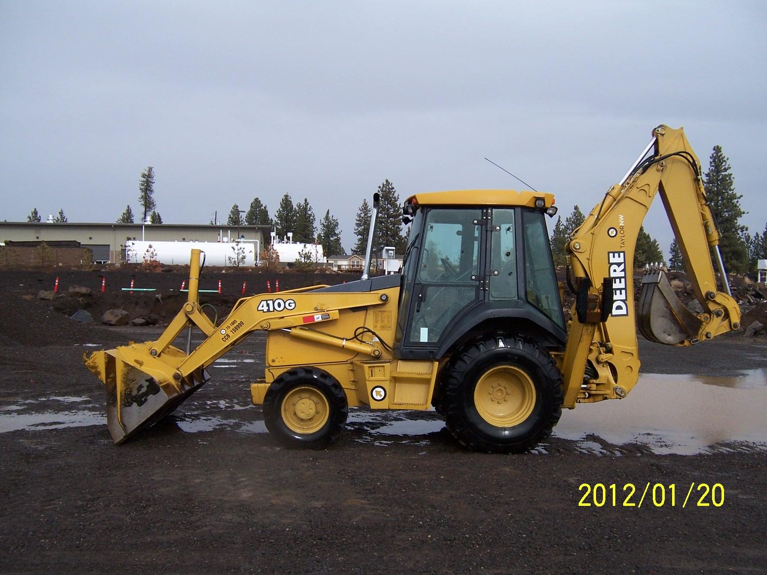 Sitzman Equipment Sales LLC - 2003 John Deere 410G Backhoe