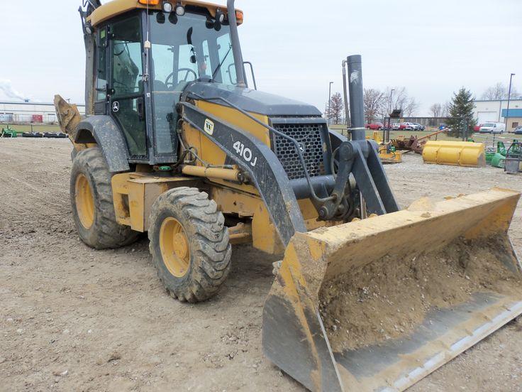 JOhn Deere 410J Backhoe | Construction Equipment | Pinterest
