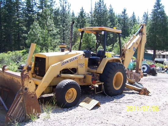 ... Equipment Sales LLC - 1989 John Deere 710C Loader Backhoe Backhoe