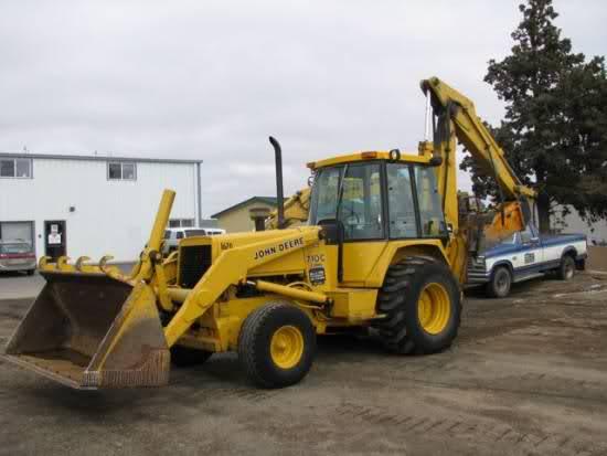 1989 john deere 710c 4x4 the king of all garden tractors img