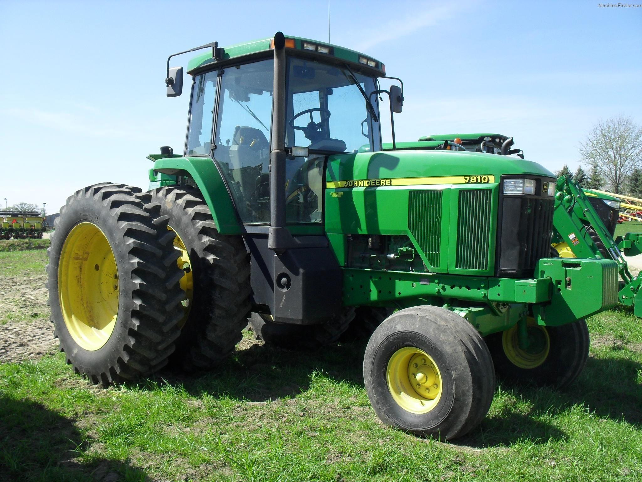 1998 John Deere 7810 Tractors - Row Crop (+100hp) - John Deere ...