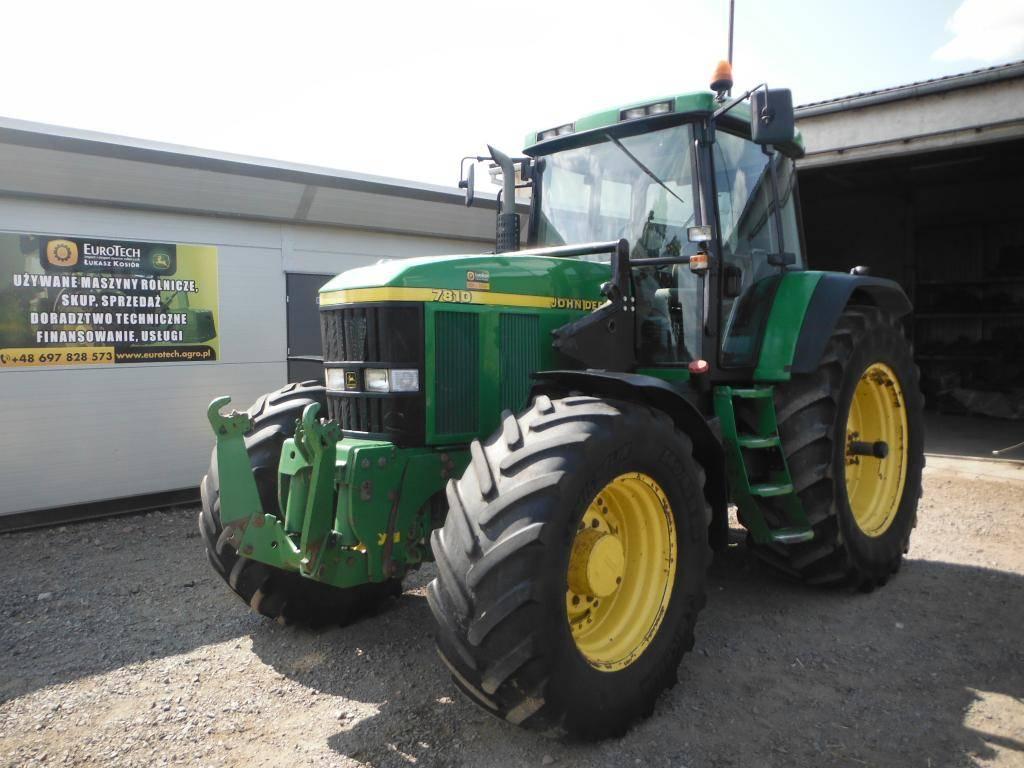John Deere 7810 - Tractors, Price: £22,540, Year of manufacture: 2001 ...