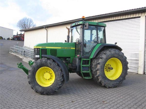 John Deere 7810 Autopower - Year of manufacture: 2001 - Tractors - ID ...