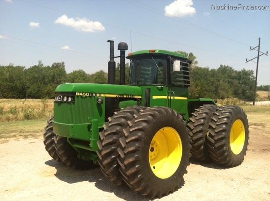 1984 John Deere 8450 Tractors - Articulated 4WD - John Deere ...