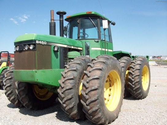 John Deere 8450 Tractors - Articulated 4WD - John Deere MachineFinder