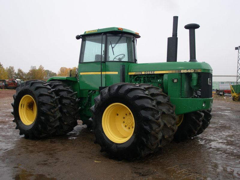 Used Tractors NEWMAN. JOHN DEERE 8640