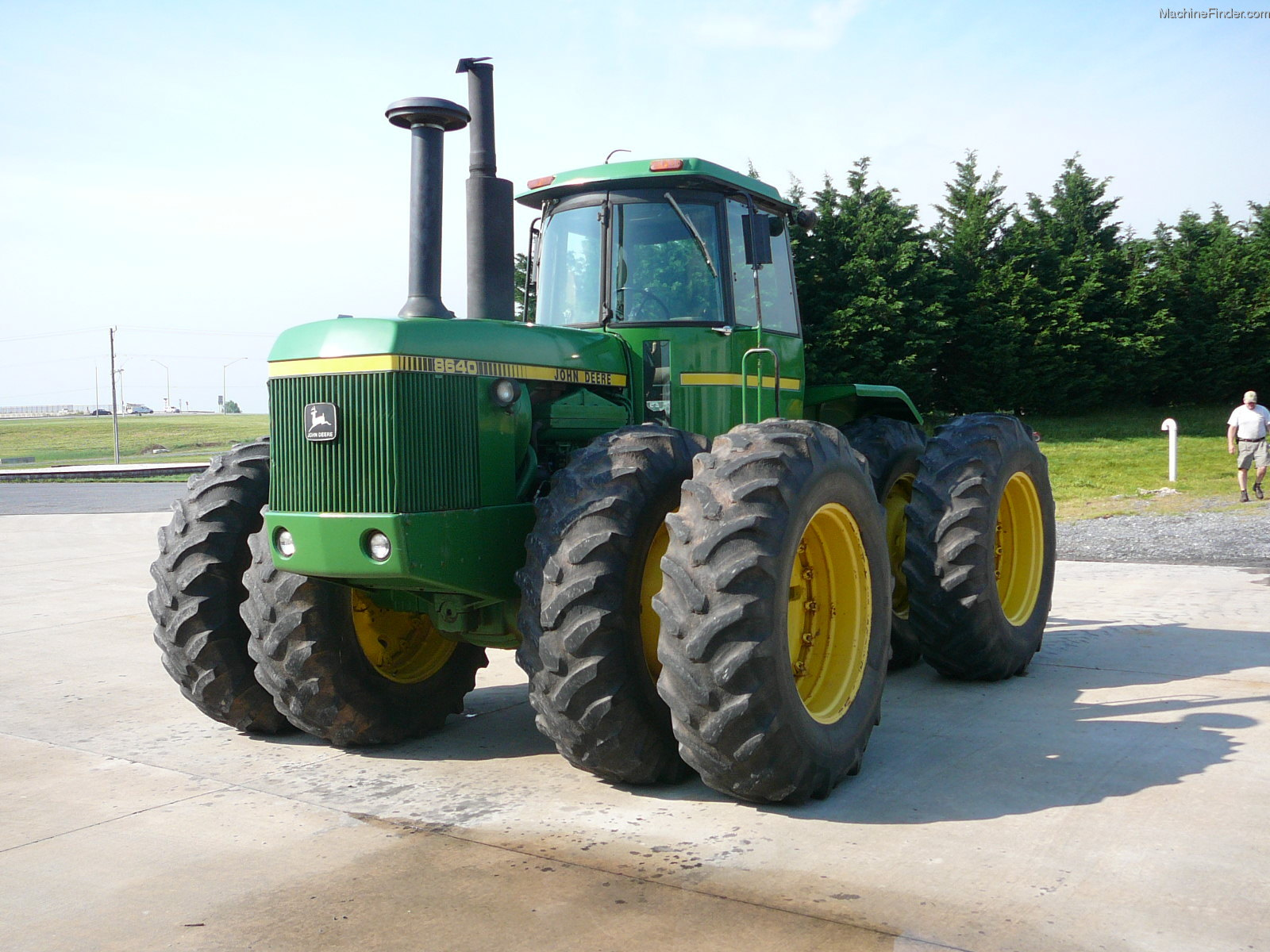 1981 John Deere 8640 Tractors - Articulated 4WD - John Deere ...