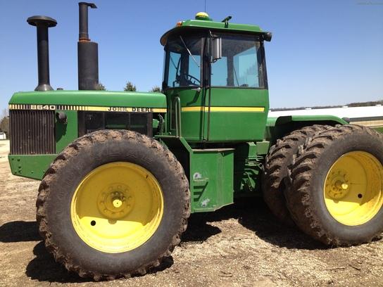 1980 John Deere 8640 Tractors - Articulated 4WD - John Deere ...