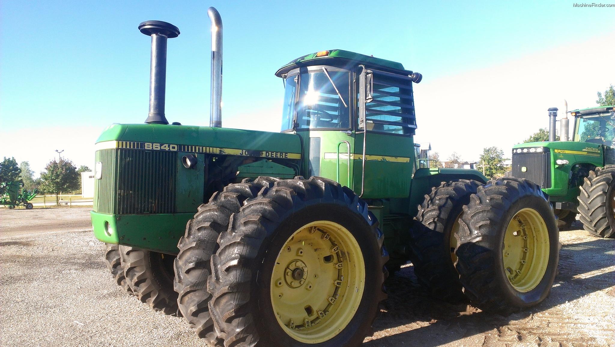 1980 John Deere JD 8640 Tractors - Articulated 4WD - John Deere ...