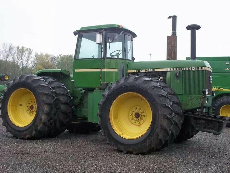 JOHN DEERE 8640 FWD | John Deere mid 70's to present tractors | Pinte ...