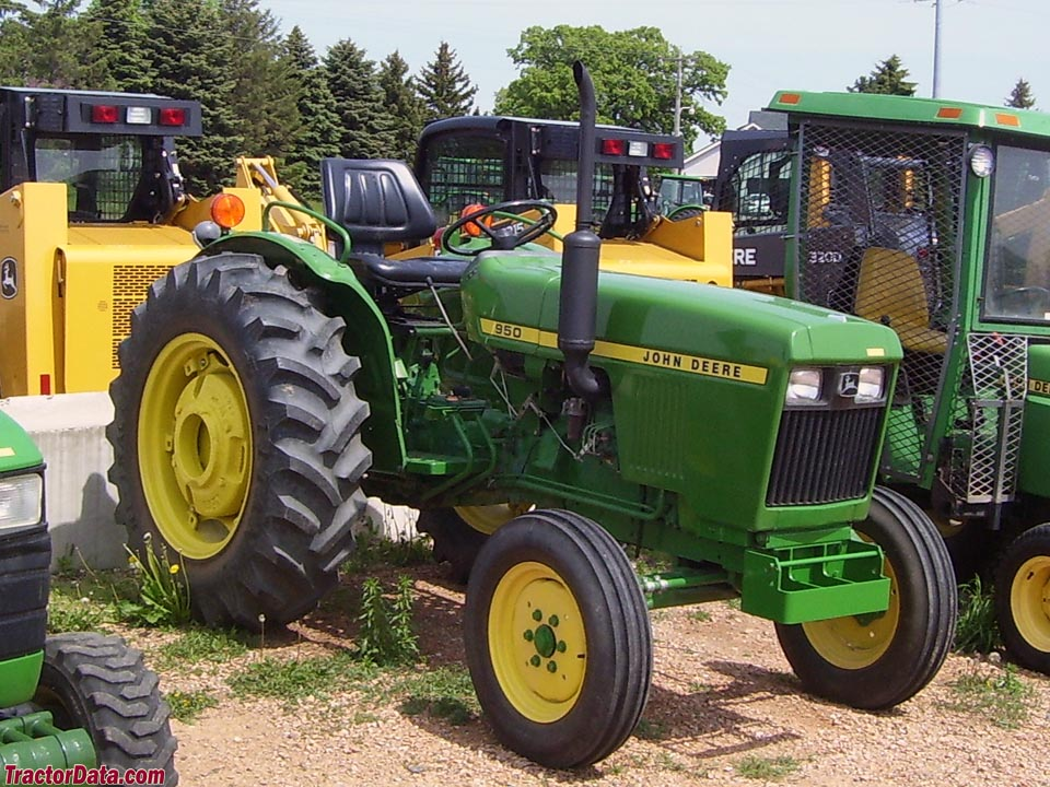 TractorData.com John Deere 950 tractor photos information