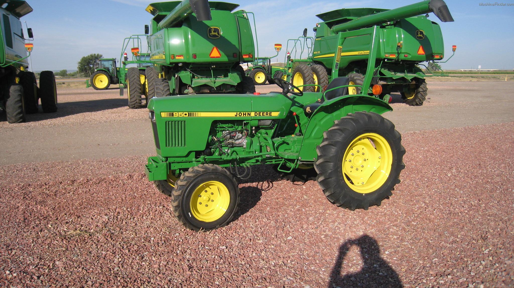 1985 John Deere 950 Tractors - Compact (1-40hp.) - John Deere ...