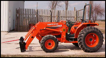 Kubota L3750 - Specifications - Attachments