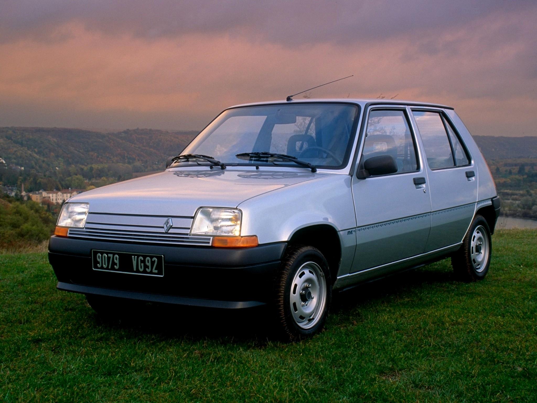 Renault 5 5-door '1985–96