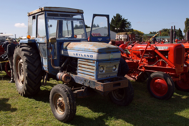 Leyland 2100 Tractor. | This 73 hp tractor, was poduced by L ...