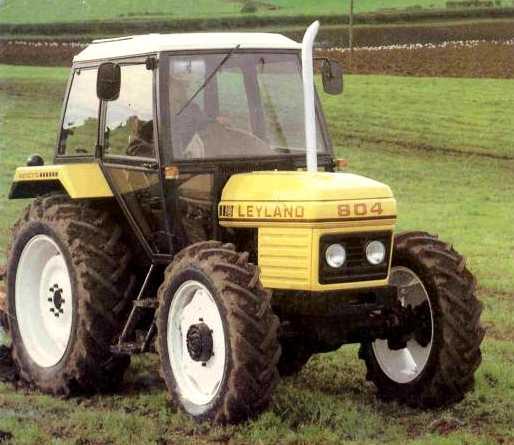 Image - Leyland 804 MFWD (yellow).jpg | Tractor & Construction Plant ...