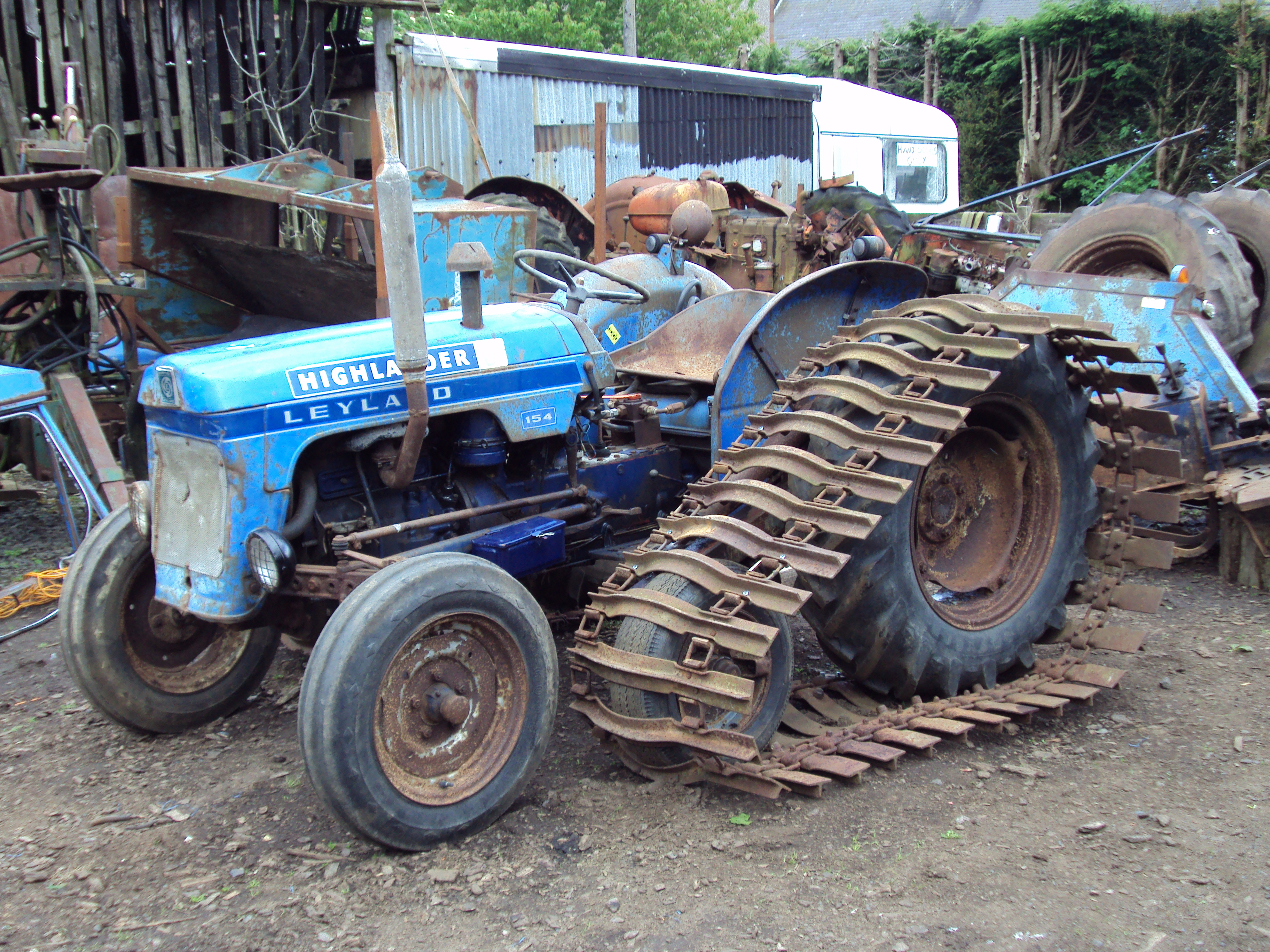 Leyland 154 - Tractor & Construction Plant Wiki - The classic vehicle ...