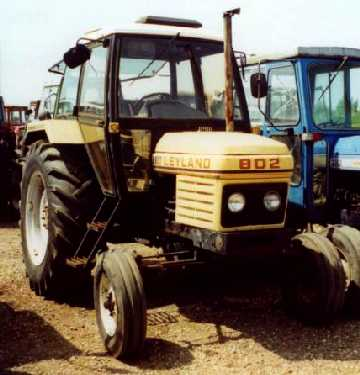 Leyland 802 - Tractor & Construction Plant Wiki - The classic vehicle ...